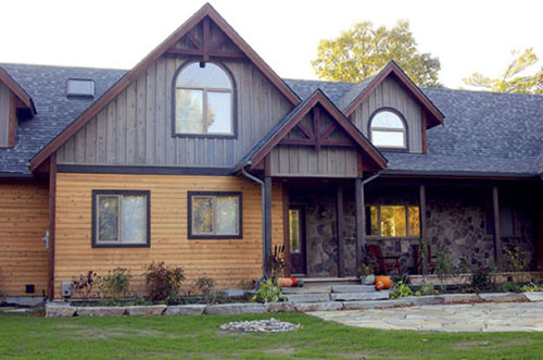 Cornerstone dec quality custom homes craftsman for Custom craftsman home builders